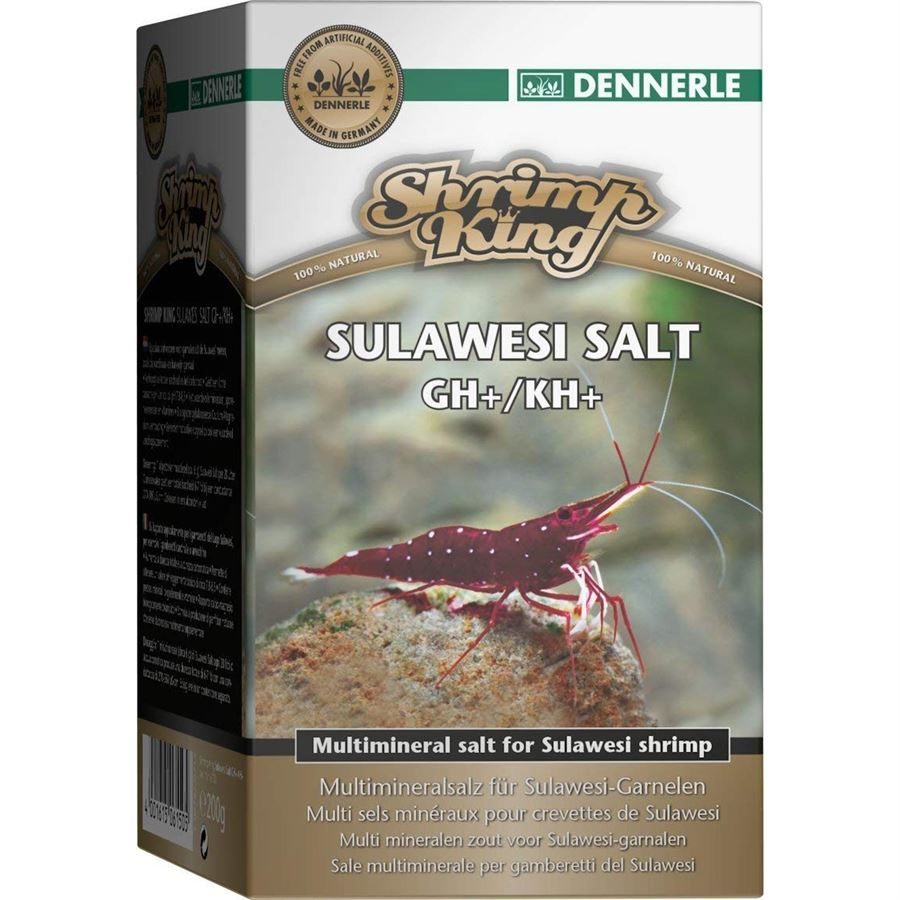 Dennerle Shrimp King Sulawesi Salt GH+/KH+ 1 000g
